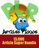 Thumbnail 15000 Monster PLR Articles - Master Resell Rights